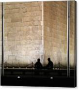 Trading Stories Canvas Print