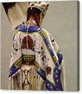 Pow Wow Traditional Dancer 1 Canvas Print