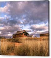 Traditional Hut Of Madagascar Countryside Canvas Print