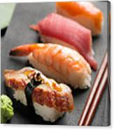 Traditional Japanese Sushi 2 Canvas Print