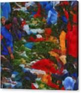 Traditional Market Canvas Print