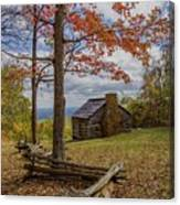 Trail Cabin Canvas Print