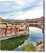 Trail Creek Canyon Canvas Print