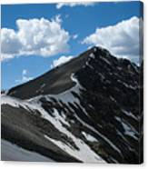 Trail From Grays To Torreys Canvas Print