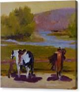 Trail Riding  Canvas Print