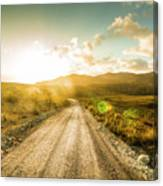 Trail To Trial Canvas Print