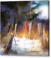 Trail's End Canvas Print