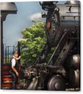Train - Engine - Alllll Aboard Canvas Print