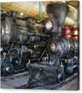 Train - Engine - Steam Locomotives Canvas Print