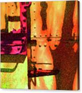 Train Abstract Variation Canvas Print