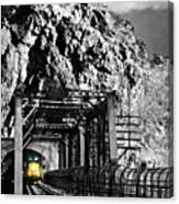 Train At Harpers Ferry Canvas Print