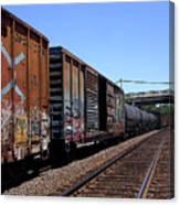 Train Colors 1 Canvas Print