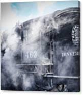 Train Engine 463 Canvas Print