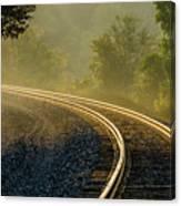 Train Lines Canvas Print