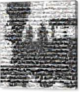 Train Mosaic Canvas Print
