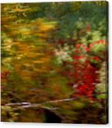 Train Ride Colors Canvas Print
