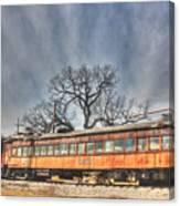 Train Series 3 Canvas Print