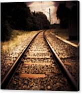 Train Tour Of Darkness Canvas Print