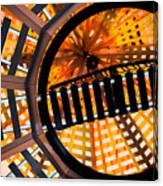 Train Track Abstract Canvas Print