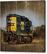 Train Yard 2 Canvas Print