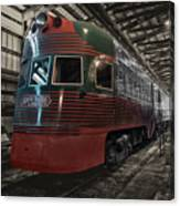 Trains North Shore Line Electroliner Sc Canvas Print