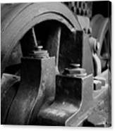 Trainwheels Canvas Print