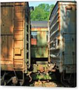 Trainyard 5 Canvas Print