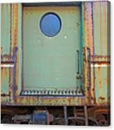 Trainyard 9 Canvas Print