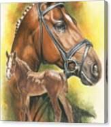 Trakehner Canvas Print