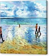Tramore Beach Waterford Canvas Print