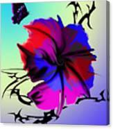 Trance Flower Canvas Print