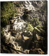 Tranquil Mountain Canyon Canvas Print