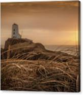 Tranquil Sunset At Llanddwyn Island - Anglesey, North Wales Canvas Print