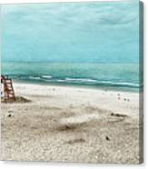 Tranquility On Tybee Island Canvas Print
