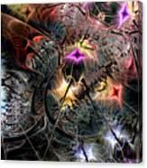 Transcendence In Retrograde Canvas Print