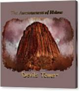 Transcendent Devils Tower 2 Canvas Print