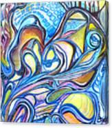 Transcending Mutations - 2 Canvas Print