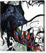 Transdimensional Climber Canvas Print