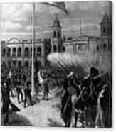 Transfer Of Louisiana Canvas Print