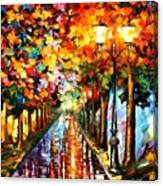 Transformation Of The Night Canvas Print