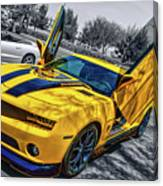 Transformers Bumble Bee 2 Canvas Print