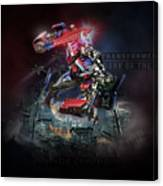 Transformers Dark Of The Moon Canvas Print