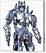 Transformers Optimus Prime Or Orion Pax Graphic  Canvas Print