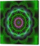 Transition Flower 10 Beats Canvas Print