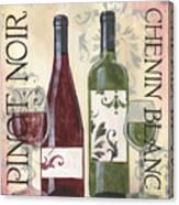 Transitional Wine 1 Canvas Print