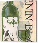 Transitional Wine Chenin Blanc Canvas Print