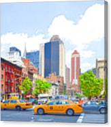 Transportation In New York 8 Canvas Print