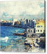 Trapani Art 19 Sicily Canvas Print