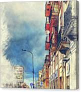 Trapani Art 20 Sicily Canvas Print