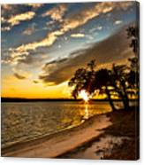 Trapped Sunset Canvas Print